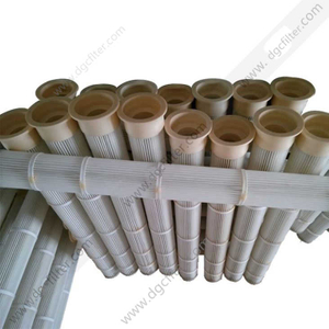 Polyurethane Cap Top Install Filter Cartridge